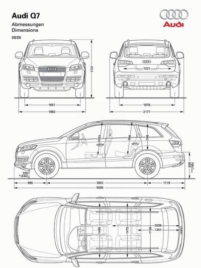 Audi-q7-hybrid-blueprint