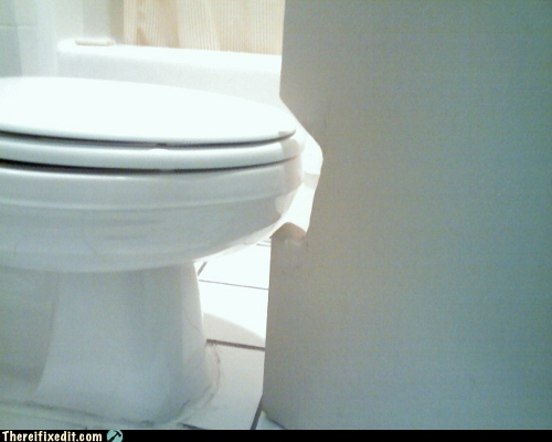 Toilet seat clearance